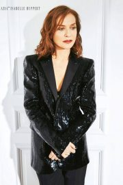 Isabelle Huppert Poses in Grazia magazine, April 2018 2