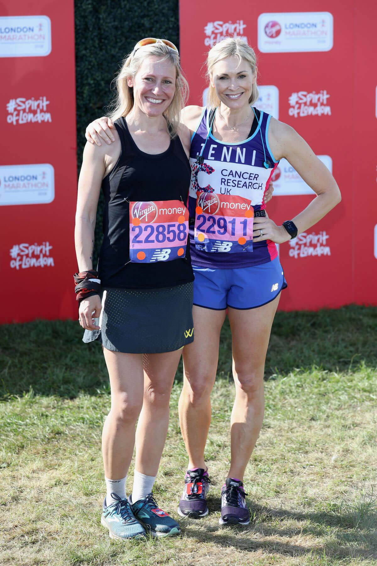 Jenni Falconer and Sophie Raworth Stills at London Marathon 2018/04/22 12