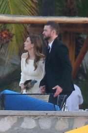 Jessica Biel and Justin Timberlake Stills at Her Brother Justin Biel's Wedding in Cabo San Lucas 2018/04/19 6