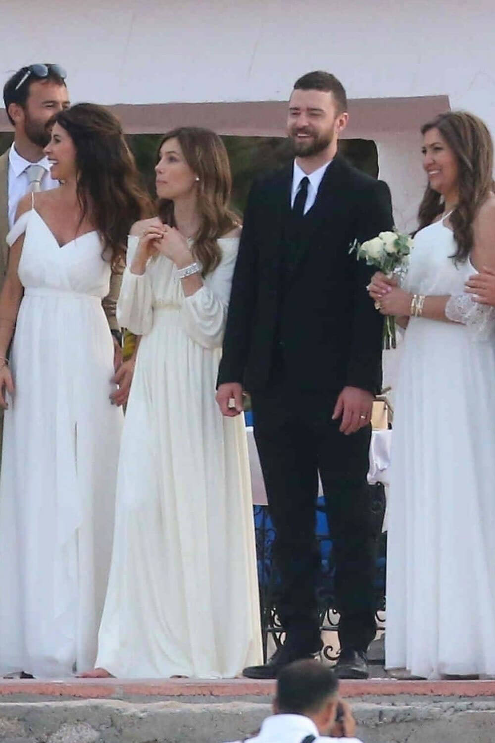 Jessica Biel and Justin Timberlake Stills at Her Brother Justin Biel's Wedding in Cabo San Lucas 2018/04/19 8
