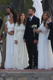 Jessica Biel and Justin Timberlake Stills at Her Brother Justin Biel's Wedding in Cabo San Lucas 2018/04/19 9