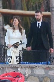 Jessica Biel and Justin Timberlake Stills at Her Brother Justin Biel's Wedding in Cabo San Lucas 2018/04/19 10