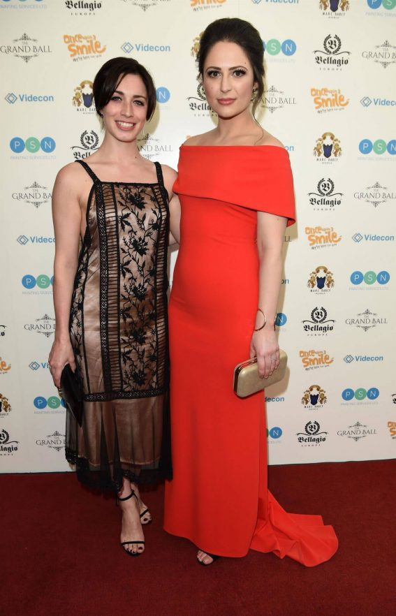 Julia Goulding and Nicola Thorp Stills at Once Upon a Smile Grand Ball in Manchester 2018/04/21 1
