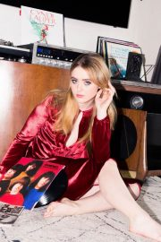 Kathryn Newton Poses for Coveteur Magazine, April 2018 Issue 3