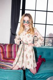 Kathryn Newton Poses for Coveteur Magazine, April 2018 Issue 5