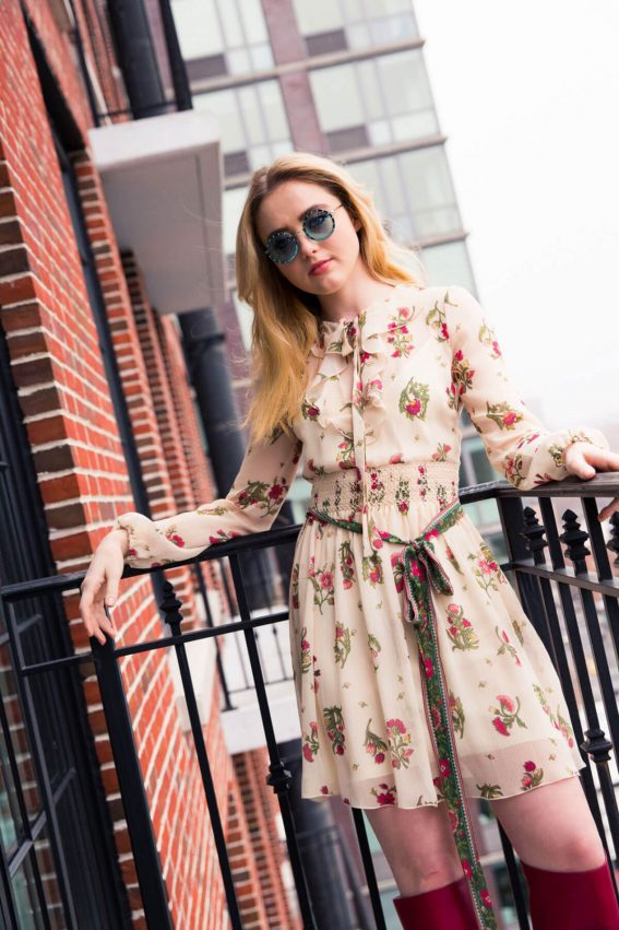 Kathryn Newton Poses for Coveteur Magazine, April 2018 Issue 13