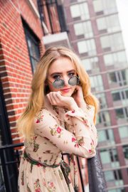 Kathryn Newton Poses for Coveteur Magazine, April 2018 Issue 14