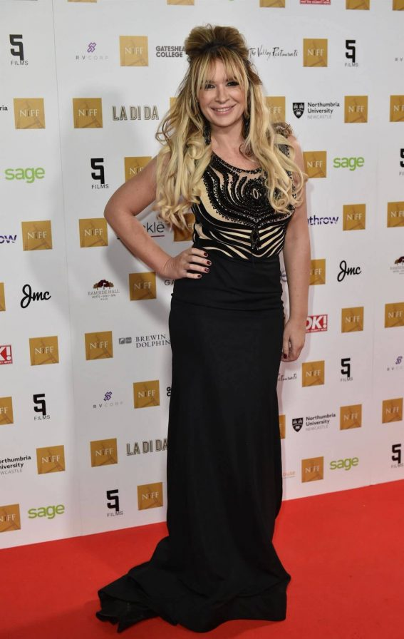 Kierston Wareing Stills at Newcastle's Civic Centre for the first Newcastle International Film Festival 2018/04/01 7