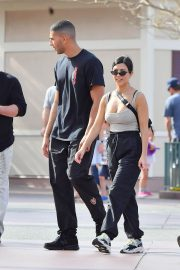Kourtney Kardashian Stills at Disneyland in Anaheim 2018/04/21 7
