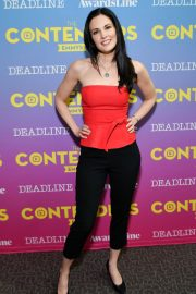Laura Mennell and Anja Savcic Stills at Contenders Emmys Presented by Deadline Hollywood, Green Room in Los Angeles 2018/04/15 1