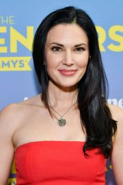 Laura Mennell and Anja Savcic Stills at Contenders Emmys Presented by Deadline Hollywood, Green Room in Los Angeles 2018/04/15 2