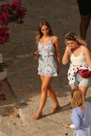 Lauren Pope and Chloe Lewis Stills on the Set of a Photoshoot in Ibiza 2018/04/22 5