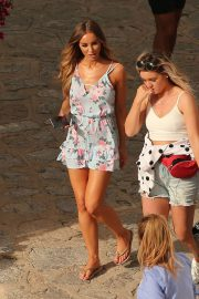 Lauren Pope and Chloe Lewis Stills on the Set of a Photoshoot in Ibiza 2018/04/22 9