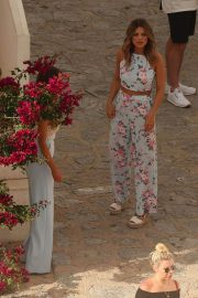 Lauren Pope and Chloe Lewis Stills on the Set of a Photoshoot in Ibiza 2018/04/22 11