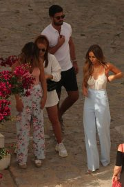 Lauren Pope and Chloe Lewis Stills on the Set of a Photoshoot in Ibiza 2018/04/22 12
