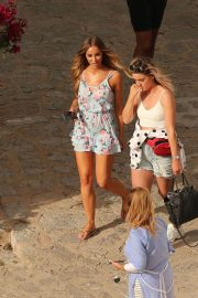Lauren Pope and Chloe Lewis Stills on the Set of a Photoshoot in Ibiza 2018/04/22 13