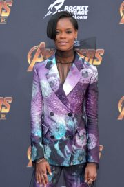 Letitia Wright Stills at Avengers: Infinity War Premiere in Los Angeles 2018/04/23 2