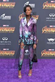 Letitia Wright Stills at Avengers: Infinity War Premiere in Los Angeles 2018/04/23 5
