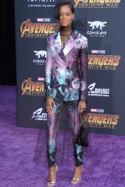 Letitia Wright Stills at Avengers: Infinity War Premiere in Los Angeles 2018/04/23 9