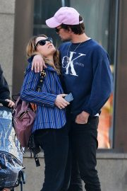 Lily James and Matt Smith Stills Out in New York 2018/04/24 5