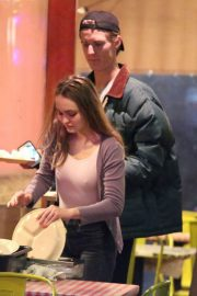 Lily-Rose Depp and Walker Bunting Stills at Pinches Tacos in West Hollywood 2018/04/20 4