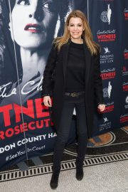 Linda Papadopoulos Stills at Witness for the Prosecution by Agatha Christie Play in London 2018/04/25 4