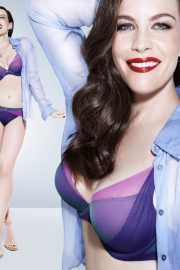 Liv Tyler Poses for Triumph Lingerie Spring/Summer 2018 Collection Photos 13