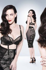Liv Tyler Poses for Triumph Lingerie Spring/Summer 2018 Collection Photos 15