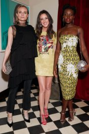 Lupita Nyong'o Stills at Micaela Erlanger How To Accessorize Book Dinner Celebration in New York 2018/04/03 2