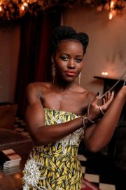 Lupita Nyong'o Stills at Micaela Erlanger How To Accessorize Book Dinner Celebration in New York 2018/04/03 4