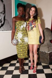 Lupita Nyong'o Stills at Micaela Erlanger How To Accessorize Book Dinner Celebration in New York 2018/04/03 8