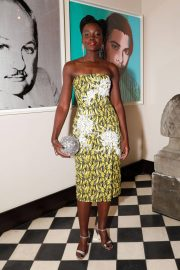 Lupita Nyong'o Stills at Micaela Erlanger How To Accessorize Book Dinner Celebration in New York 2018/04/03 9