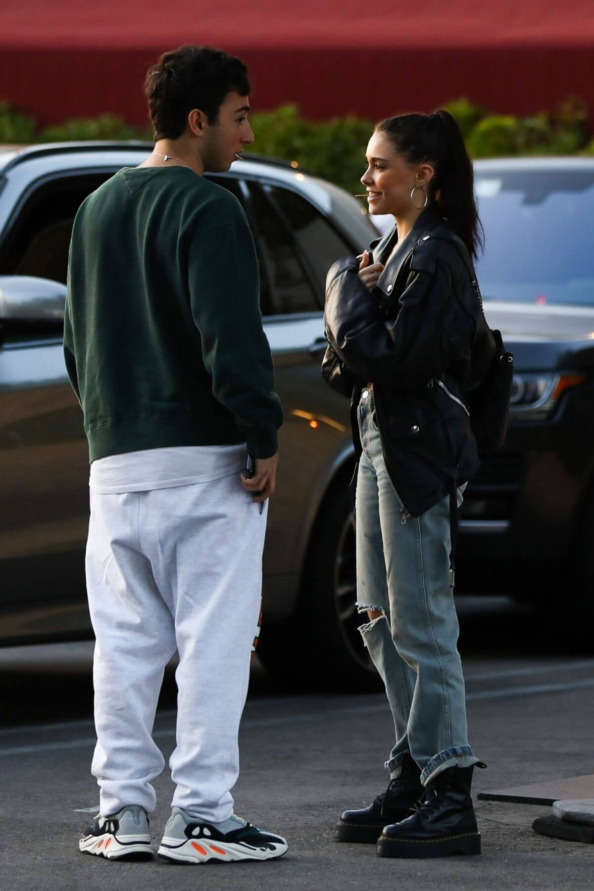 Madison Beer and Zack Bia Stills Out for Dinner in Los Angeles 2018/04/03 6