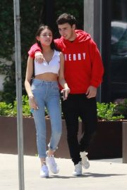 Madison Beer and Zack Bia Stills Out for Lunch in Los Angeles 2018/04/21 1