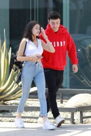 Madison Beer and Zack Bia Stills Out for Lunch in Los Angeles 2018/04/21 3