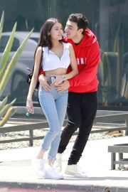 Madison Beer and Zack Bia Stills Out for Lunch in Los Angeles 2018/04/21 8
