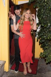 Mariah Carey Stills Leaves Dan Tana's in West Hollywood 2018/04/26 3
