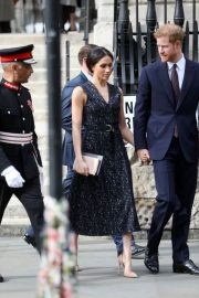 Meghan Markle and Prince Harry Stills at Stephen Lawrence Memorial Service in London 2018/04/23 5