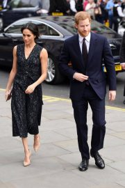 Meghan Markle and Prince Harry Stills at Stephen Lawrence Memorial Service in London 2018/04/23 9