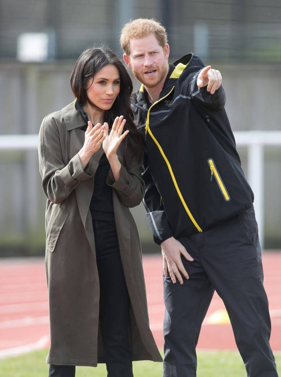 Meghan Markle and Prince Harry Stills at UK Team Trials at Bath University 2018/04/06 8