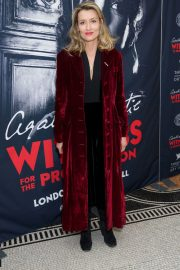 Natascha McElhone Stills at Witness for the Prosecution by Agatha Christie Play in London 2018/04/25 2
