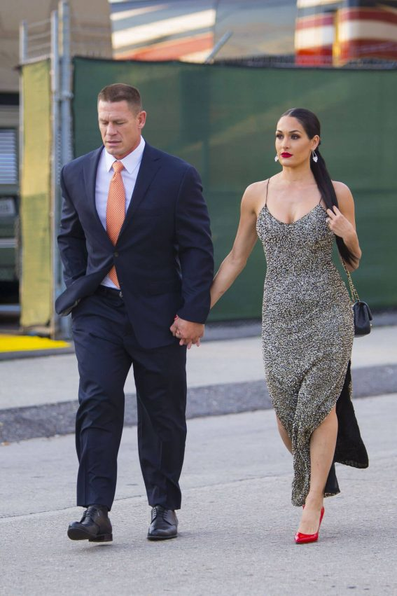 Nikki Bella and John Cena Stills at WWE Wrestlemania 34 Hall Of Fame 2018 in New Orleans 2018/04/07 8