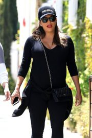 Pregnant Eva Longoria Stills Out for Lunch in Beverly Hills 2018/04/24 4