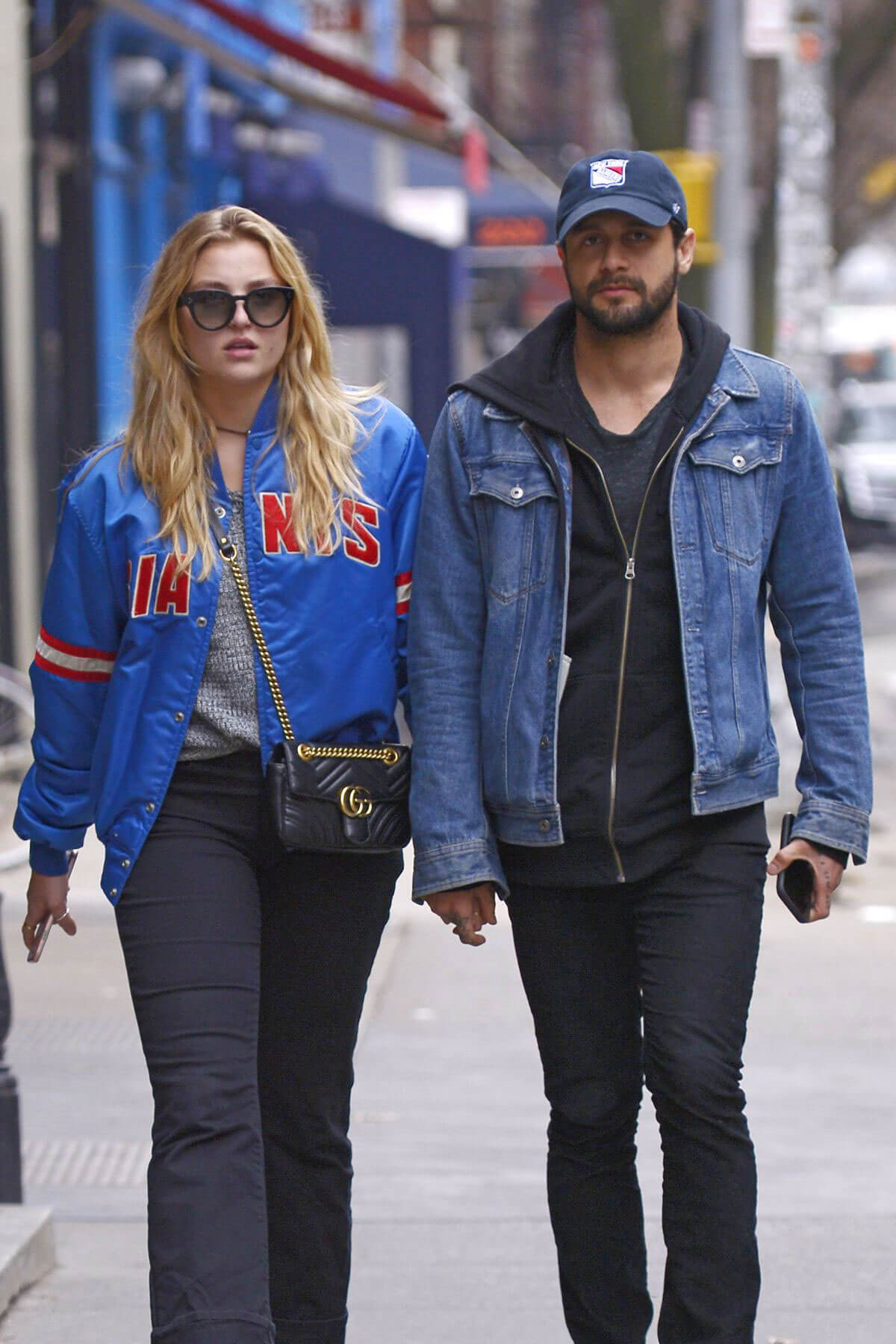 Rachel Hilbert and Brett Eldredge Stills Out in New York 2018/03/28 6