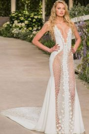 Romee Strijd Stills at Pronovias Fashion Show in Barcelona 2018/04/23 8