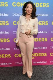 Sandra Oh Stills at Contenders Emmys Presented by Deadline Hollywood, Green Room in Los Angeles 2018/04/15 1