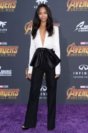 Zoe Saldana Stills at Avengers: Infinity War Premiere in Los Angeles 2018/04/23 2