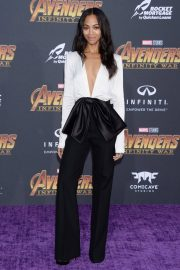 Zoe Saldana Stills at Avengers: Infinity War Premiere in Los Angeles 2018/04/23 4