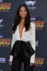 Zoe Saldana Stills at Avengers: Infinity War Premiere in Los Angeles 2018/04/23 9
