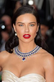 Adriana Lima Stills at Burning Premiere at 71st Annual Cannes Film Festival 2018/05/16 10